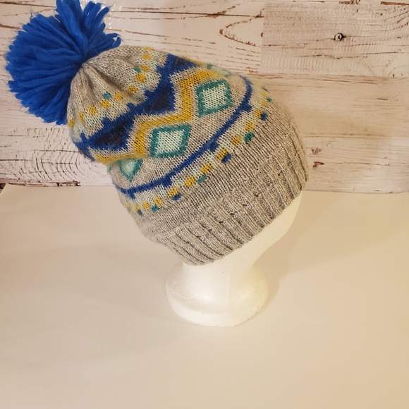 Target Other - Target gray/ blue warm hat